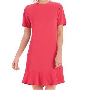 """Mud Pie """"Farrah"""" pink flounce dress"""